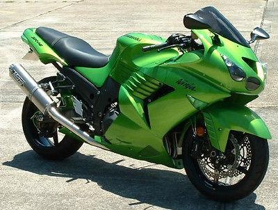 Kawasaki : Ninja 2009 kawasaki ninja zx 14 zx 14 r zx 14 zx 14 r customized tricked out 24 k value