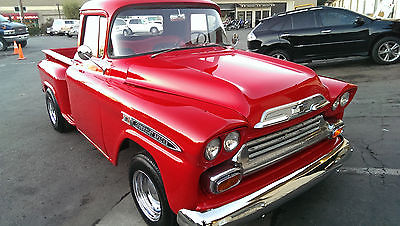 Chevrolet : Other Pickups Apache 1959 chevy apache shortbed beautiful original truck