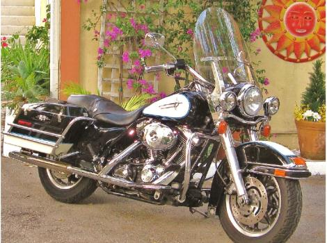 2002 Harley-Davidson Road King POLICE