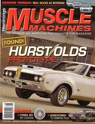 Oldsmobile : Other Hurst 1969 hurst olds prototype car excellent, 1