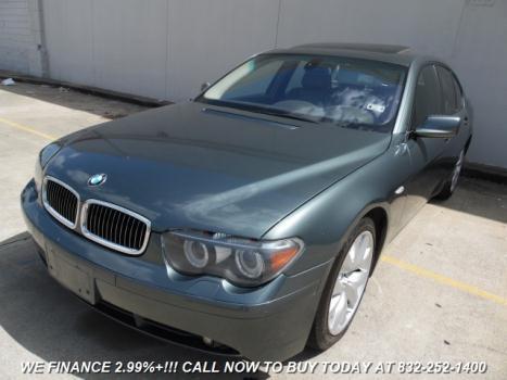 2004 BMW 745 i Houston, TX