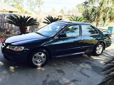 Honda : Accord SE Sedan 4-Door 2002 honda accord ex 3.0 l low miles very clean