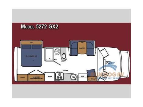2009 Gulf Stream Rv Yellowstone Cruiser GX2 5272