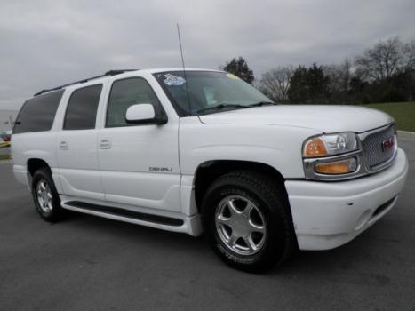GMC : Yukon 1500 AWD XL 2001 gmc yukon xl denali awd heated leather bose 1 owner clean southern white