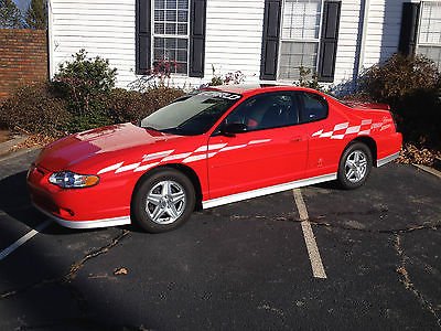 Chevrolet : Monte Carlo SS PACE CAR 2000 chevrolet monte carlo ss pace car 1 of 2222 perfect rare trades considered