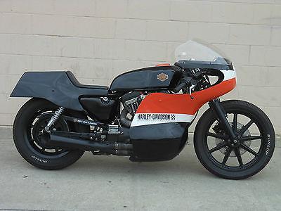 Harley-Davidson : Sportster Harley Cafe Racer , XLCR,,XR750, XR1000,