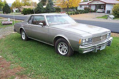 Chevrolet : Impala Formally Landau 1979 chevy impala sport coupe with hand controls