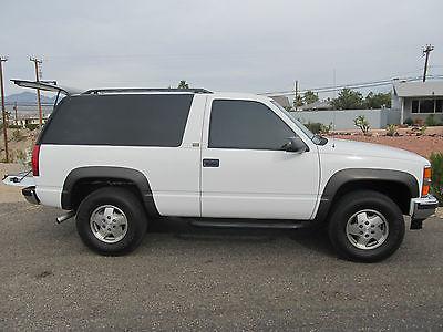 Chevrolet : Blazer Base Sport Utility 2-Door 1994 chevy k 1500 blazer 4 wd