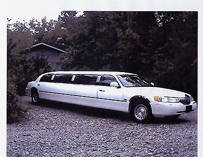 Lincoln : Town Car 120 Stretch Lincoln 120 Stretch 10 Passenger US Coachworks