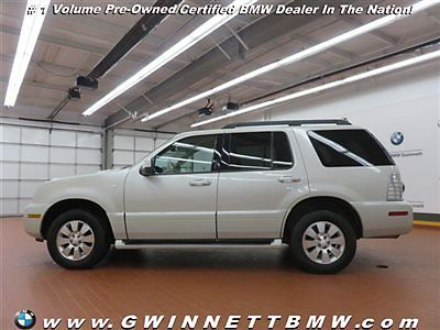 Mercury : Mountaineer 4dr Luxury AWD 4 dr luxury awd suv automatic gasoline 4.0 l v 6 cyl light french silk metallic