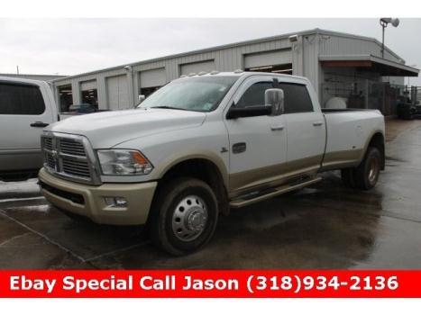 Dodge : Ram 3500 Laramie Long Laramie Longhorn clean finance 1ton dually 11 Diesel 6.7L Nav 4x4 4wd Navigation
