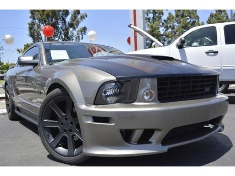 Ford : Mustang GT Premium saleen edition v8 5 speed leather seats all power custom hood 20in alloys