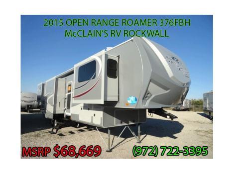 2015 Open Range OPEN RANGE ROAMER 376FBH