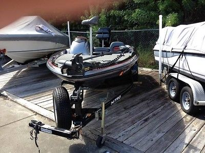 Nitro Bass Boat 482-$9,300.......REDUCED