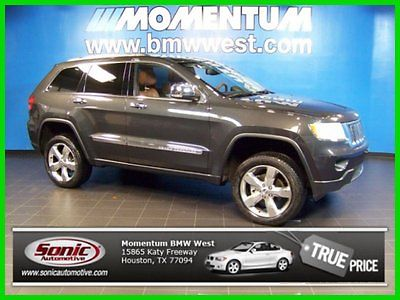 Jeep : Grand Cherokee Overland Leather Roof Towing 2011 overland used 3.6 l v 6 24 v 4 wd suv