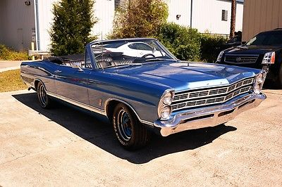 Ford : Galaxie 500 1967 ford galaxie 500 390 engine convertible clean restored rare