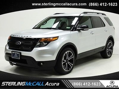 Ford : Explorer Sport FORD: EXPLORER SPORT 2014 NAVI REAR CAM HTD LEATHER BLUETOOTH XM KEYLESS