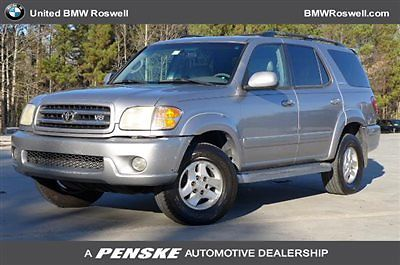 Toyota : Sequoia 4dr Limited 4WD 4 dr limited 4 wd suv automatic gasoline 4.7 l 8 cyl silver sky metallic