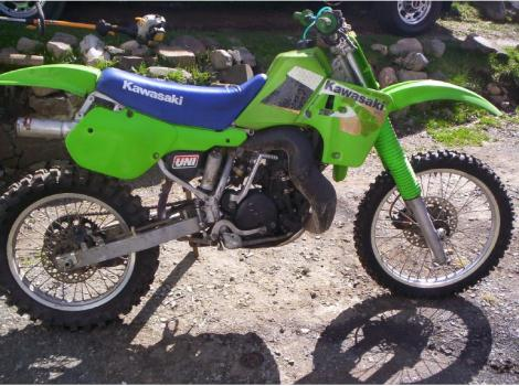 1987 Kawasaki Kx 500