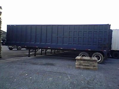 Open Top Ejector/Transfer/Push Out Trailer