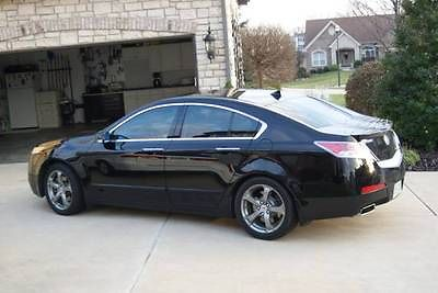 Acura : TL Technology Package 2011 acura tl technology package