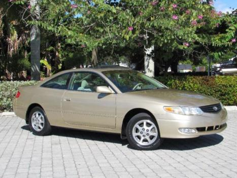 Toyota : Camry Coupe SE 2003 toyota camry solara 2 dr coupe se 54 k miles automatic jbl cd sunroof