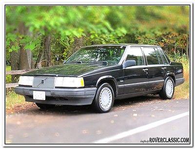 Volvo : 740 760 Turbo 1990 volvo 760 turbo