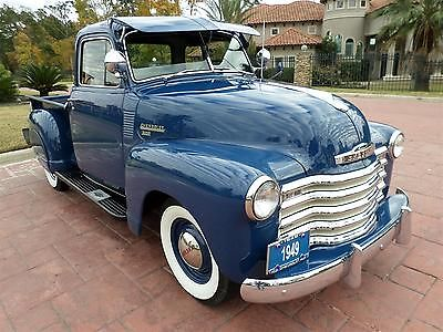 Chevrolet : Other Pickups FREE SHIPPING! 3100 deluxe cab 235 inline 6 cyl am fm radio restored tx truck great history