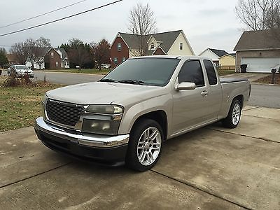 GMC : Canyon Z85 SL Extended Cab Pickup 4-Door 2004 gmc canyon 2 wd 3.5 l i 5 154 000 18 wheels lowered stereo tint engine mods