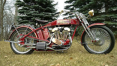 Harley-Davidson : Other Hand Built 1917 Tribute Harley Davidson