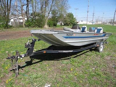 1994 Bass Tracker Marine Pro 18 Boat - 18ft Boat with Trailer - Project Boat