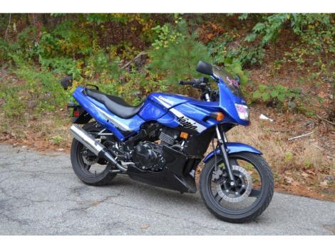 kawasaki ninja 500r motorcycles for sale in massachusetts. Black Bedroom Furniture Sets. Home Design Ideas