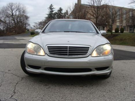 Mercedes-Benz : S-Class S55 Sdn AMG 2002 mercedes benz s 55 amg 1 owner car dealer serviced 100 running 82000 miles