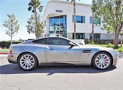 Aston Martin : Vanquish Vanquish S 2005 aston martin vanquish s grey on black low miles serviced 1 31 2014