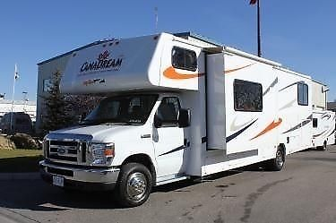 Spacious family 6 2010 motorhome ford
