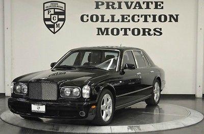 Bentley : Arnage T Sedan 4-Door 2003 bentley arnage t carfax certified low miles c