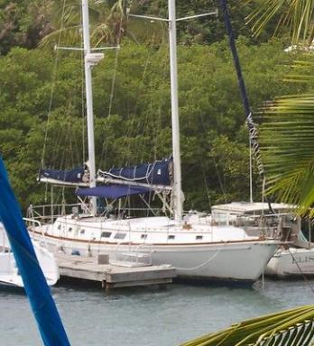 Sailboat  Gulfstar 50