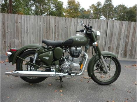2015 Royal Enfield Classic 500 Military