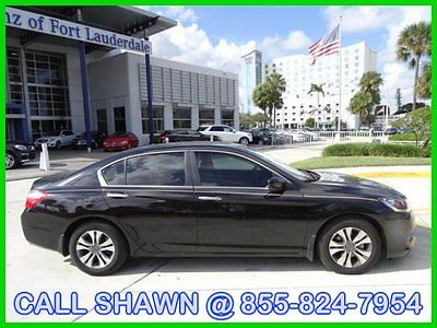 Honda : Accord WE FINANCE, WE SHIP, WE EXPORT, $16991, GREAT DEAL 2013 honda accord lx black tan automatic cd power everything l k at me