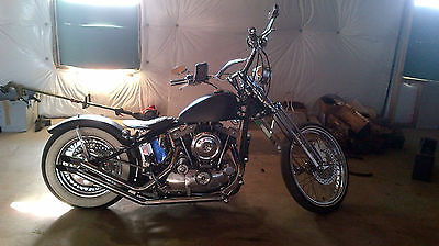 Harley-Davidson : Sportster 1974 ironhead sportster custom built w video