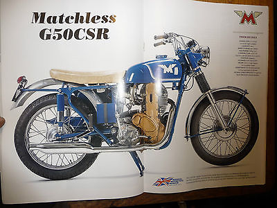 Other Makes : MATCHLESS CSR GOLDEN EAGLE 500 OHC CIRCA 1962 MATCHLESS G50 CSR GOLDEN EAGLE PROJECT SOME NOS GENUINE ORIGINAL BITS