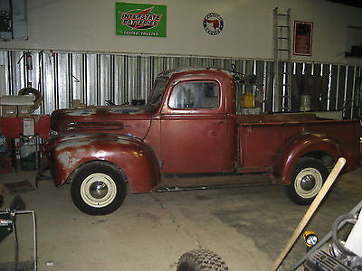 Ford : Other Pickups base 1946 ford flathead pickup