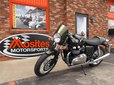 Triumph : Other NEW 2013 Triumph Thruxton A2 in Brookland Green. Cafe Racer Styling. MUST GO!