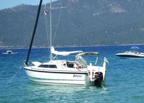 2002 26' MacGregor 26x Sail Boat