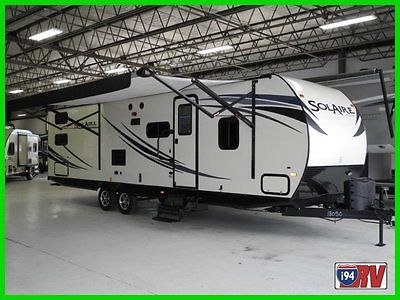 2014 Palomino SolAire Seven 28 QBSS RV CAMPER TRAVEL TRAILER $1000.00 gift card!