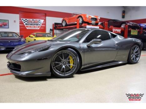 Ferrari : 458 Italia 10 ferrari 458 italia navi cam carbon scuderia shields hi fi 60 k in upgrades