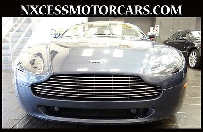 Aston Martin : Vantage Base Convertible 2-Door CONVERTIBLE NAVIGATION LOADED ONE ONWER LOW MILES!!!