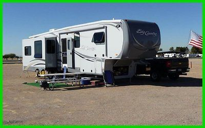 2011 Heartland Big Country 3650RL 39' 5th Wheel 3 Slides Outs CD DVD ILLINOIS