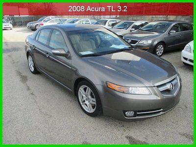 Acura : TL 3.2 2008 3.2 used 3.2 l v 6 24 v automatic fwd sedan premium clean carfax