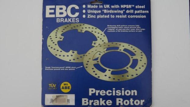 One EBC MD2011 Disc Brake Rotor for Yamaha